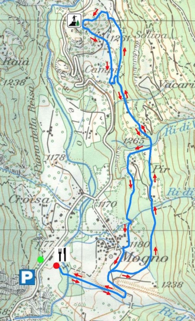cartina percorso racchette 1