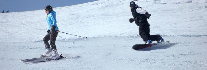 Sci e Snowboard Mogno